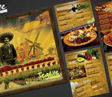 Tegave Restaurant Menu